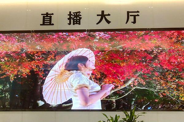 55寸无缝拼接屏-广东佛山某电视台